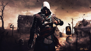 Assasins Creed Wallpaper by FatihGraphic71