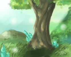 Old Tree by Hakaina-chan