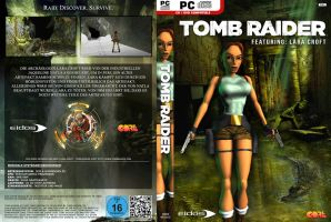 Tomb Raider (1996) - HQ Custom PC DVD Cover GER by Djblackpearl