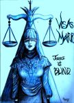 Visas Marr as Blind Justice by GrecianUrn