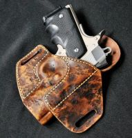 Apocalyptic Survivor Compact 1911 Holster by Obsidian-Sun