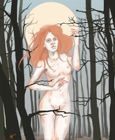Lydia_in_wood by Pandora-Poe