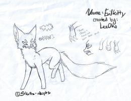 Creature Concept .:Evil Kitty:. by Skullz-adopts