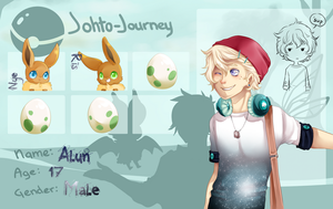 Johto-Journey: Alun by Saki-Chin