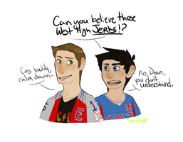 I Have A Thing For Highschool Aus And Soccer Cas by AuraGhost