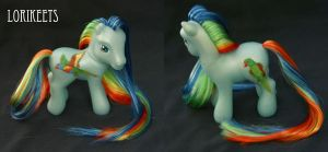 Lorikeets parrot pony by Cuddlyparrot