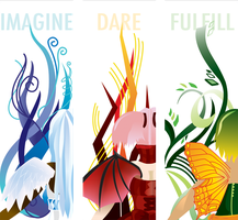 Imagine, Dare, Fulfill by Lady-Mage