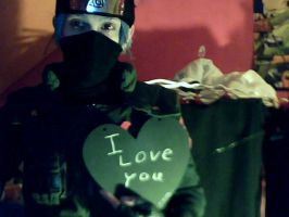 kakashi valentine's day. shifted in. by e431