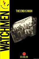 Watchmen Movie Poster 1 by policegirl01