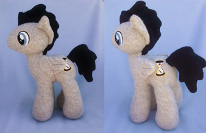 Raymond Clocks - Pony Plush - Commission by Sparkle-And-Sunshine
