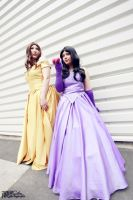 Belle and Snow White ~ Once Upon a Time by Gwenwhyvar