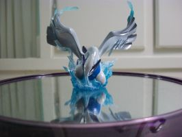 Lugia Figure Front by unovapokemon