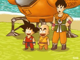 Dragon Ball origins by buang