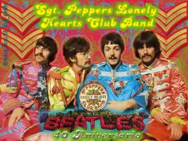 40 Aniversario - Sgt. Peppers by Gonzelot