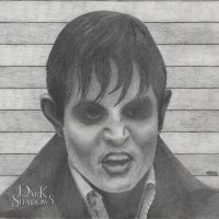 Johnny Depp As Barnabas Collins - vamped out by Nephthys76