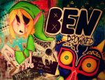 Ben drowned (some sort of collage like thingy) by Zimandchowder4evr