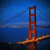 Golden Gate by lux69aeterna