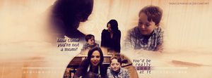 A good mom | Regina and Owen by theniceparadise
