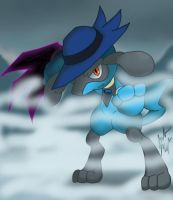 Dash the Riolu by SonicX908