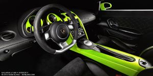 Gallardo LP 560-4 Interior II by notbland