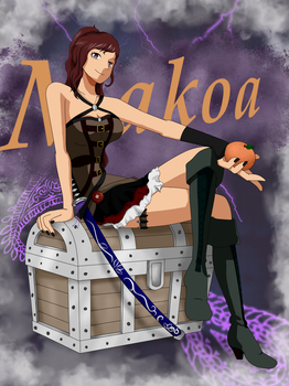 One Piece Oc: Makoas new Outfit by Saya1999