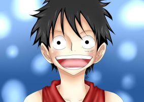Luffy by SportyMcShortShorts