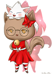 My Kitty Avatar @ Gaia Online by PikaChika