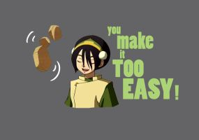 Proving me wrong... Toph t-shirt by Lantis-Erin