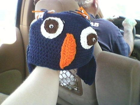 OWL HAT by ejcreations
