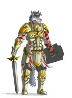 [Commission] Thauraxxrian - Paladin by 7THeaven