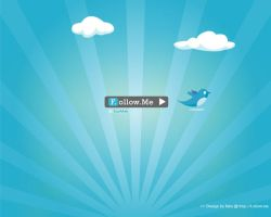 Twitter f.ollow.me wallpaper 2 by rikulu