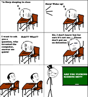 Class -Rage Comic- by Albowtross91