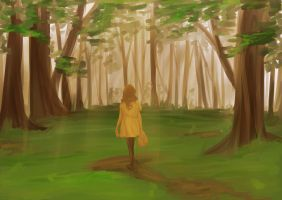 Guided Imagery - The Forest Meadow by beanaroony