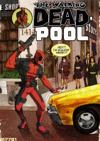 the walking deadpool... by m7781