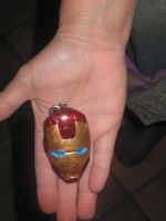 Iron Man Keychain by Finny-KunGoddess