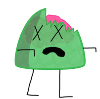 Gumdrop As A Zombie Vector by thedrksiren