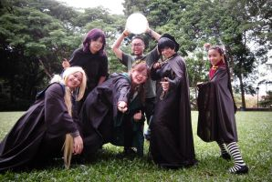Battle of Hogwarts' 15th memorial gathering by vampire-mage