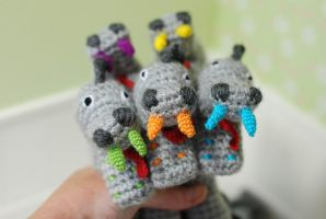 Dino Amigurumi Crochet Dragon Dinosaur Toy Animal by iasio