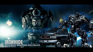 RIP Ironhide by TedZ01