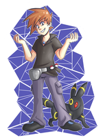 Pokemon Trainer Rival by TCullenDA