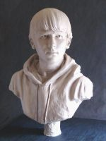 Self Portrait Bust by folkeby