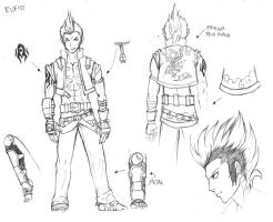 Rufio Character Sheet by drunkenstyle