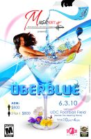 uberblue flyer front by yanic