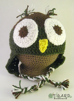 A Secret Owl Hat by tigardneedlework