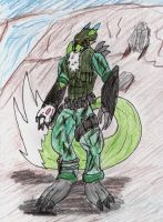 Ryke as an ODST by madmick2299