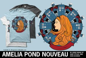 Amelia Pond Art Nouveau by digitalfragrance