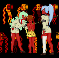 Scanty Kneesocks and Madotsuki by Nana-C-Lover