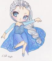 Chibi Elsa (Final Deviation) by SammyyT