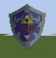 Hylian Shield Pixel Art by BBronYY