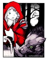 Red Riding Hood by o-kemono